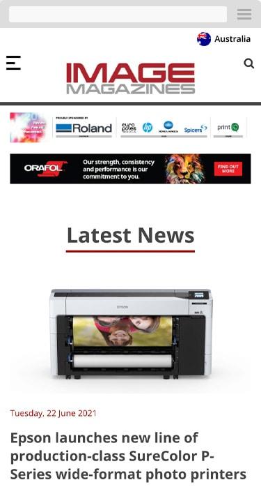 Image Magazines mobile screenshot